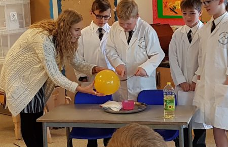 Using Science Ambassadors in school
