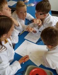 Primary school science workshop